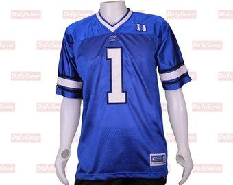Duke University Jersey Duke Football jersey Duke Blue devils jersey Duke  Blue Devils Basketball Jersey rare Duke Jersey Blue Devils clothing 8dbab5647
