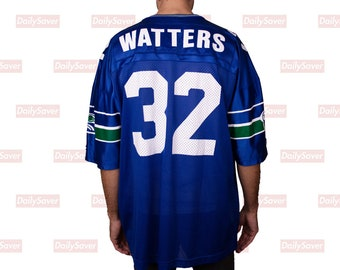 a135b28d580 Seattle Seahawks Jersey Vintage Seahawks Ricky Watters Football Jersey Rare  Champion Football Jersey Rare Seahawks Champion Jersey NFL mesh