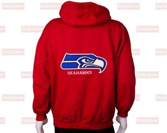 02ab3b14e Rare Vintage Seattle Seahawks Training Camp Sweatshirt Hoodie Seahawks  Hoodie Seahawk Sweatshirt Seahawks football jersey seahawks clothing