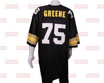 bb42b310a Mean Joe Greene Jersey Pittsburgh Steelers Jersey Vintage Steelers football  jersey Mitchell   Ness jersey Nfl Joe Greene Football jersey