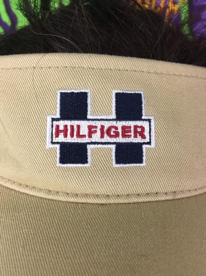 5d0aa3cc Tommy Hilfiger Visor Hat Vintage Tommy Hilfiger Hat Vintage | Etsy