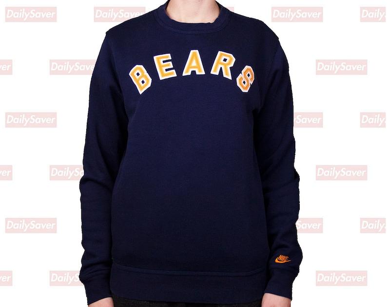 8a2875f7 Chicago Bears Sweatshirt Chicago Bears crewneck Bears Football sweatshirt  Vintage chicago Vintage bears jersey bears jacket bears clothing