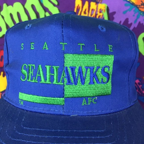 Seattle Seahawks Hat Vintage AJD Signature Hat Seattle  2bb198d4a