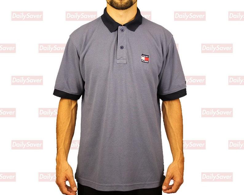 17a8279b Tommy Hilfiger Polo shirt Tommy Hilfiger flag tommy Hilfiger | Etsy