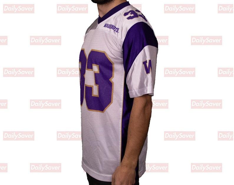 quality design 4b854 349d8 University of Washington Huskies Football Jersey Vintage Huskies jersey UW  Huskies Jersey Huskies Washington football jersey purple and gold