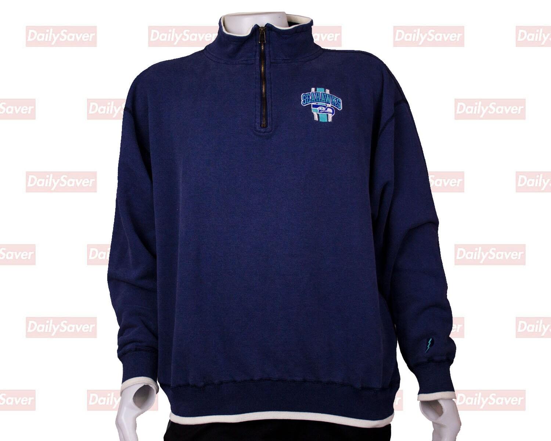 cb692b796 Seattle Seahawks Sweatshirt Vintage Seattle Seahawks Sweater   Etsy