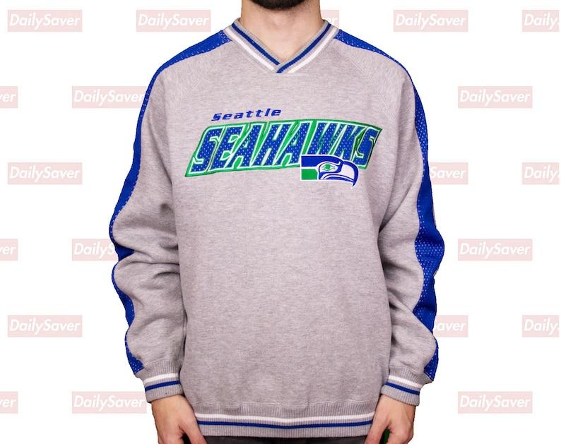32f98636a Seattle Seahawks sweatshirt Seahawks sweater Seahawks jacket   Etsy