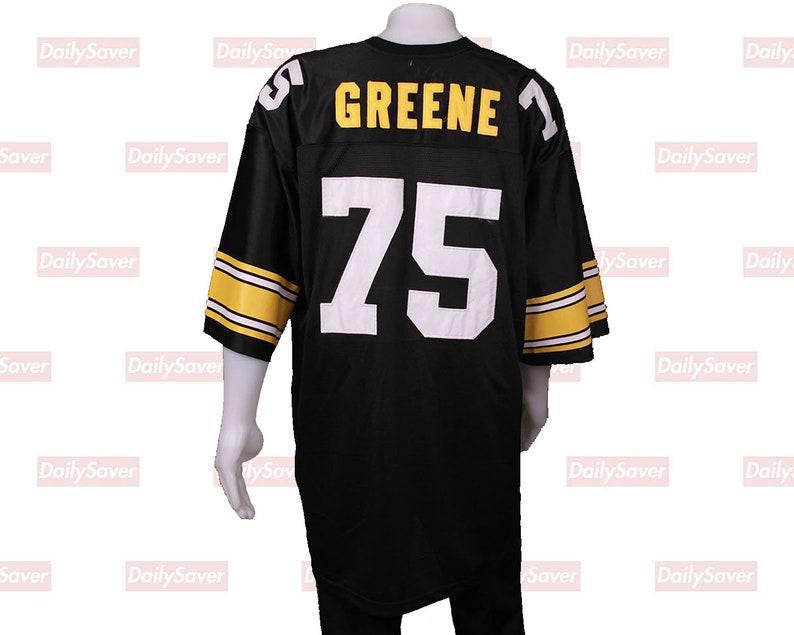 dc5a53462bd Mean Joe Greene Jersey Pittsburgh Steelers Jersey Vintage   Etsy