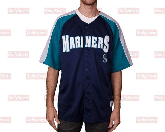size 40 5a67d cfc5d Seattle Mariners Jersey Vintage Mariners Baseball Jersey Rare Seattle  Mariners Dynasty Series Jersey MLB Baseball Jersey Rare Mariners