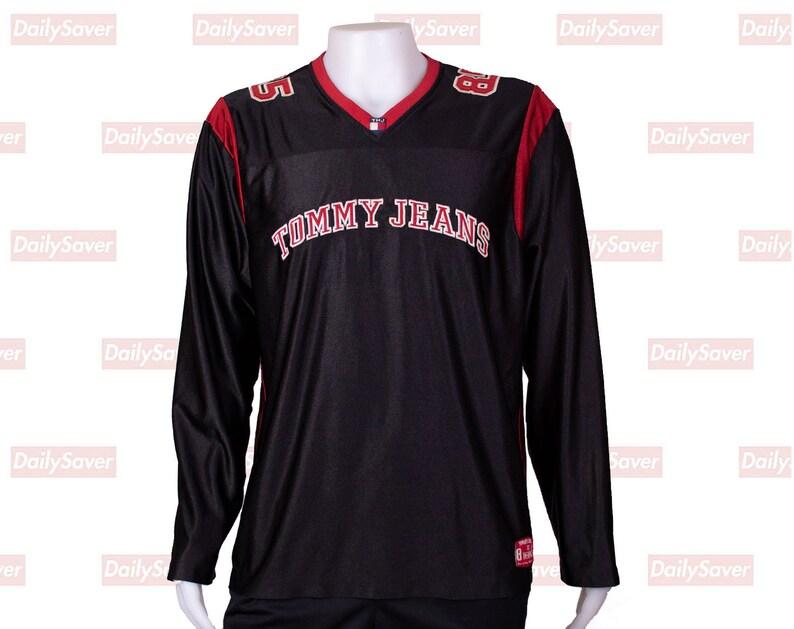 65ef4e17 Tommy Hilfiger Jersey Vintage Tommy Hilfiger shirt Tommy Jeans | Etsy