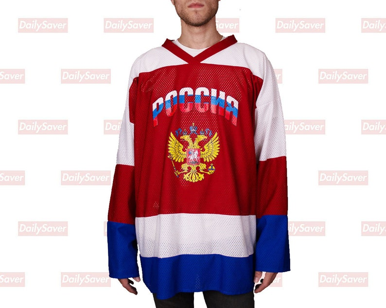 b2d8cf213 Vintage Team Russia Hockey Jersey Ilya Kovalchuk Jersey | Etsy