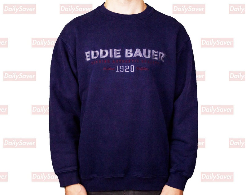 14d6f62b578e Vintage Eddie Bauer Crewneck Sweatshirt Eddie Bauer sweatshirt
