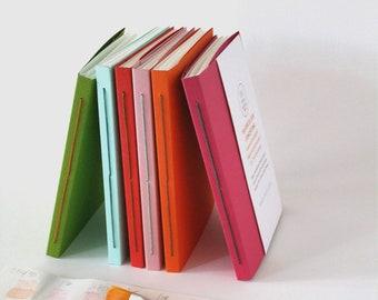 Watercolour Concertina Book, Accordion Watercolour Paper Sketch Book, Leporello Book, Handmade Gift for Artist, Letterbox Gift