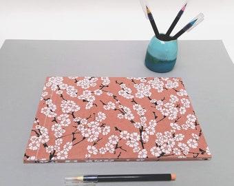 SAMPLE SALE: Large Sketchbook/Journal/Guestbook, A4 Sketch Book, Landscape, Cartridge Paper, Japanese Binding, Lokta Paper, Artist Gift