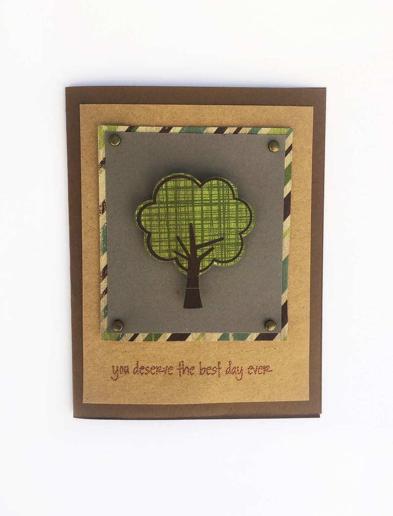 Handmade Card You Deserve The Best Day Ever