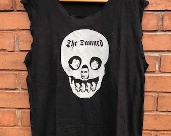 ddf9a94d Vintage The Damned English Punk Rock Icon Tank Shirt / Punk Rock Legend Size  M