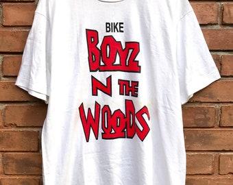 6e98761b Vintage 90s Boyz N The Hood 1991 American Teen Hood Drama Film / Ice Cube  Gooding Jr Promo Parody T Shirt Hip hop 90s Size L