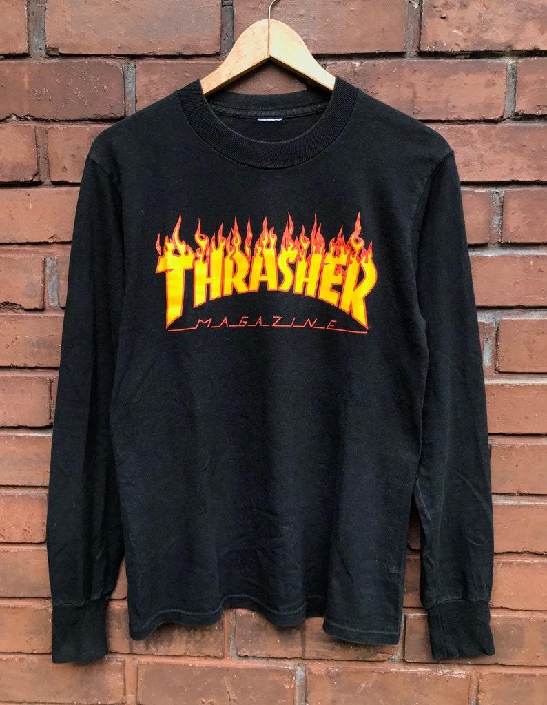 5e10e99e7668 Vintage 90s True Vtg Thrasher Magazine Skateboard 90s