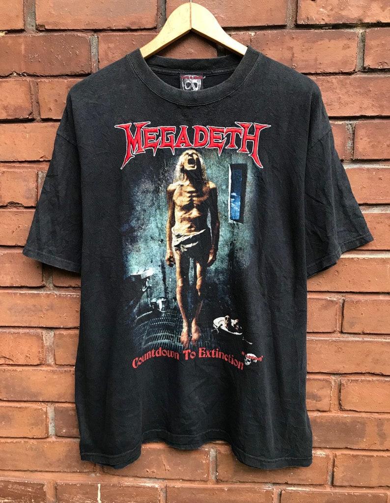 b13892c78 Vintage 90s Megadeth Countdown To Extinction 1992 | Etsy