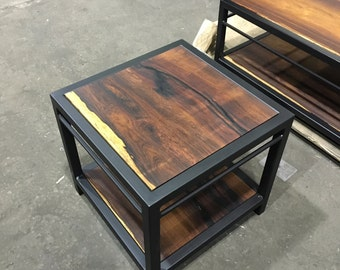 Marvelous Brazilian Rosewood End Table