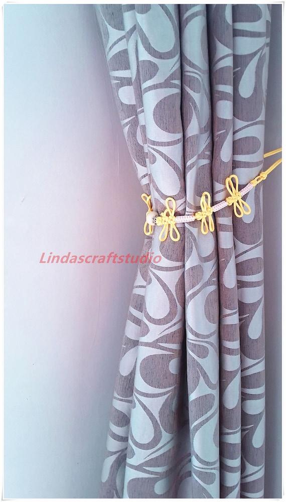 Shower Curtain Tiebacks Dragon Fly HoldersKnot