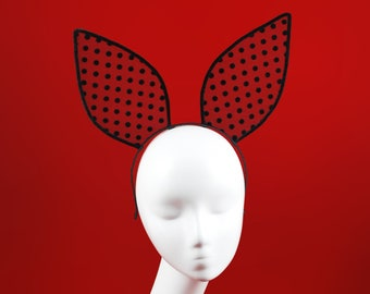 Bunny Ears Headband   Rabbit Mask Headpiece   Sexy Accessory   Festival  Accessory cd1d70b5ff94