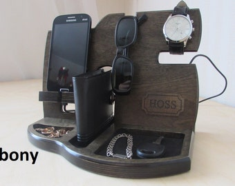 Docking Station Gift For Men Who Have Everything 30th 50 Anniversary Birthday Mens