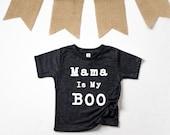Mama Is My Boo Shirt - Mama Halloween Shirt - Kids Halloween Shirt - Mama Kids Shirt - Halloween Shirts For Kids - Boo Shirt - Cute Boo Shir