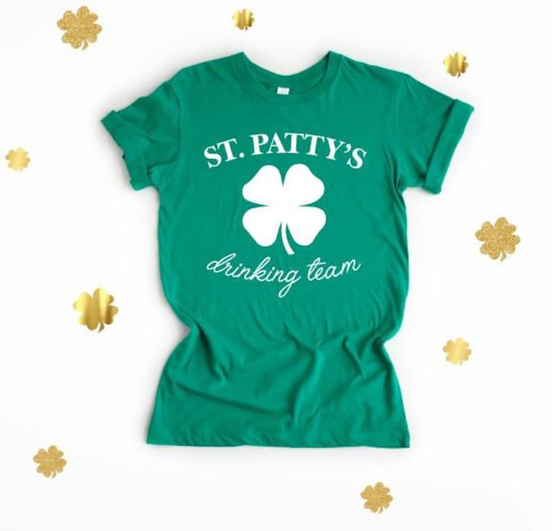 fa556f84 St. Patty's Drinking Team Matching St. Patricks Day | Etsy