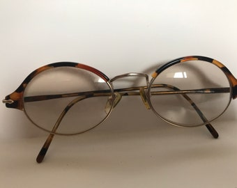 Vintage 71  Persol Eyeglasses Frame Tortoise Shell Made In Italy