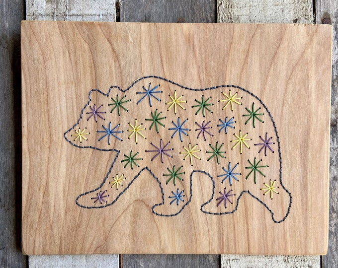 Colorful Bear 2