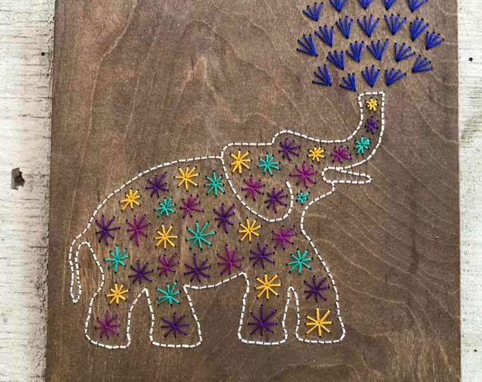 Colorful Elephant #2