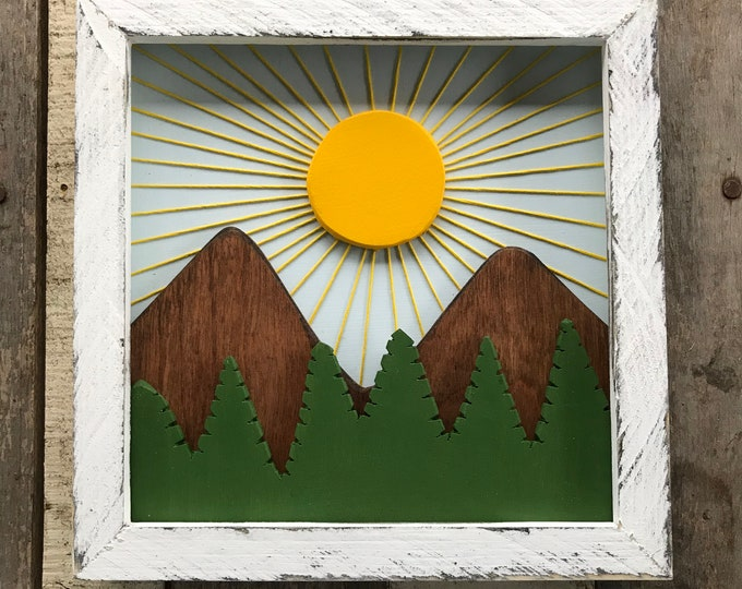 Mountain Sunrise- small