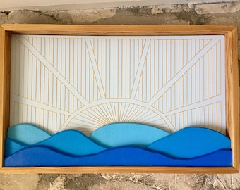 Ocean Sunrise Wall hanging
