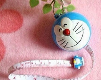 Doraemon Cartoon Sewing Measurement Retractable Tailor Ruler Tape Measures