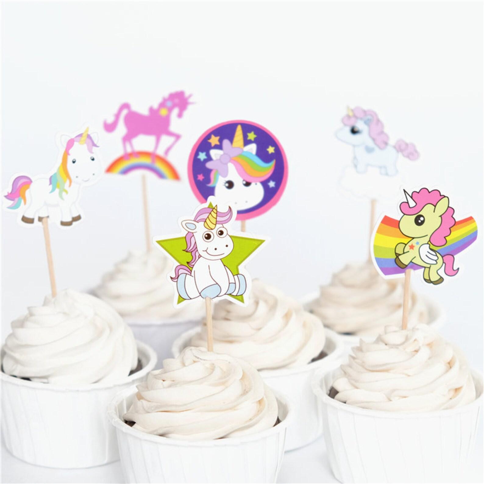 Unicorn Cupcake Picks Page Four