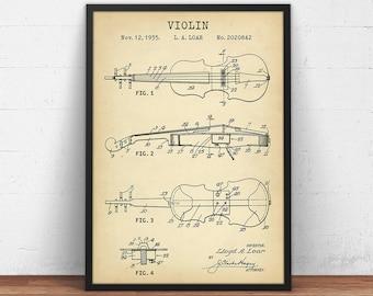 Violin art | Etsy