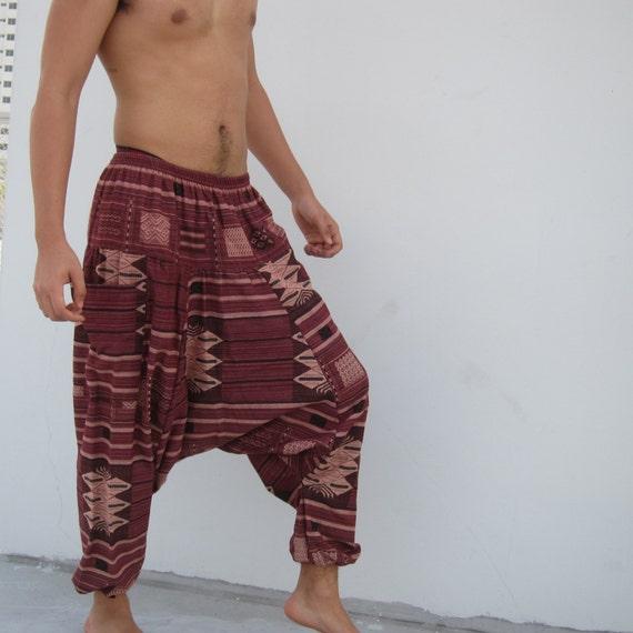 Original Harem Pants Tutorial Template Men or Women Digital Download ...