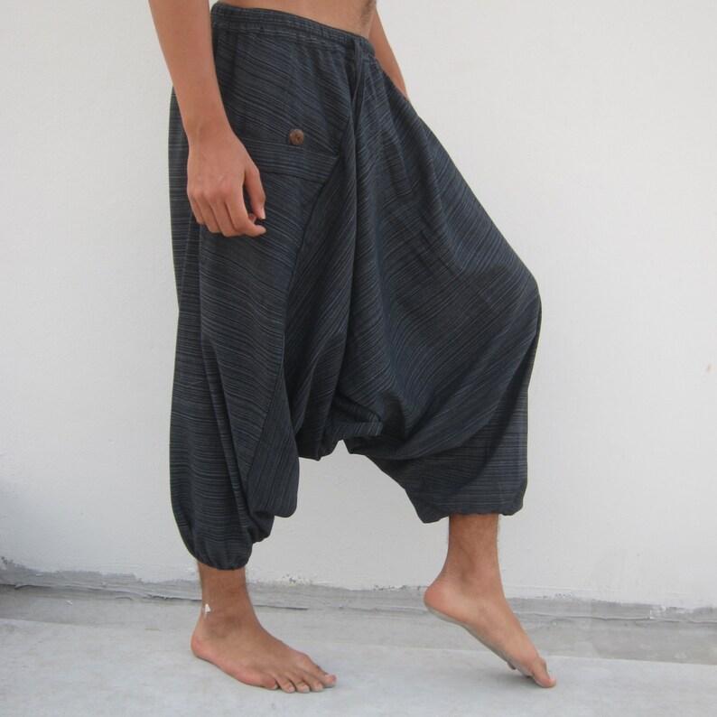 dcb4cb67531 Original Harem Pants Tutorial Template Men or Women Digital Download  Pattern Wide Leg Low Crotch Yoga Pant