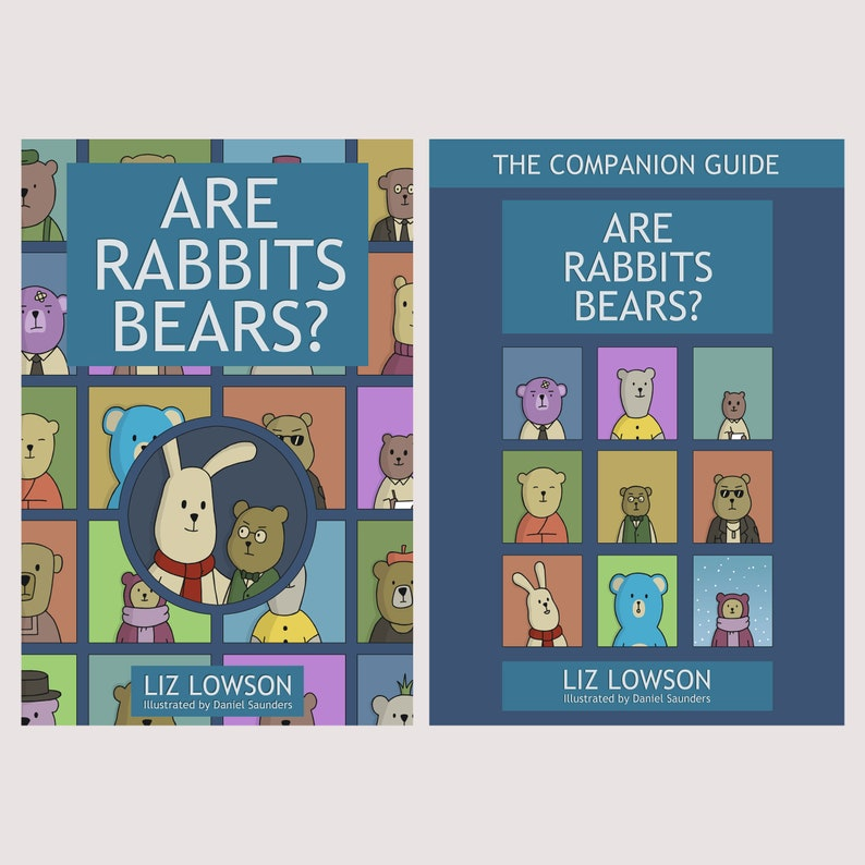 Are Rabbits Bears  Set of Childrens Books image 0