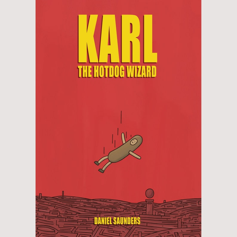 Karl the Hotdog Wizard  Full Colour Graphic Novel image 0