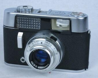 Voigtlander VITO CD, 35mm rangefinder camera, Lanthar 50mm/2.8 lens. ca. 1964, EXC++