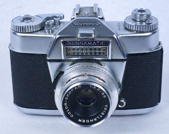 Voigtlander BESSAMATIC T 35mm SLR camera, with color-skopar 50mm/2.8 lens