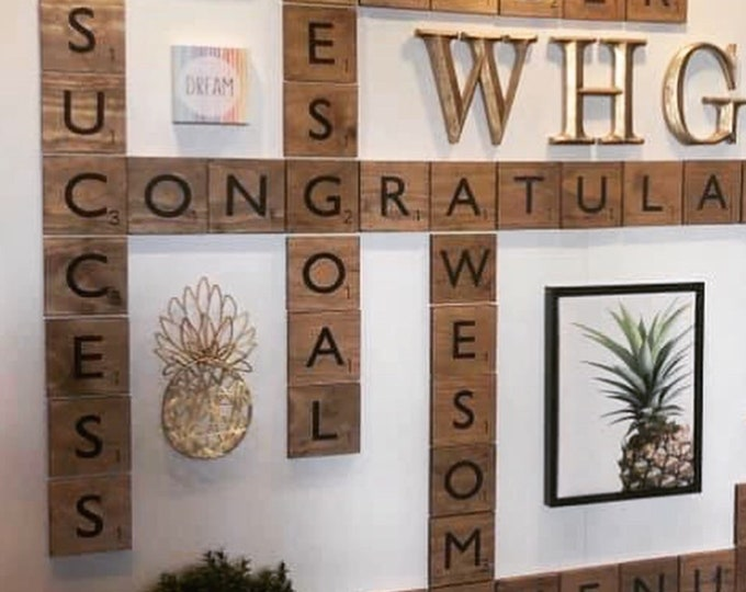 """Wall Letter Tiles 