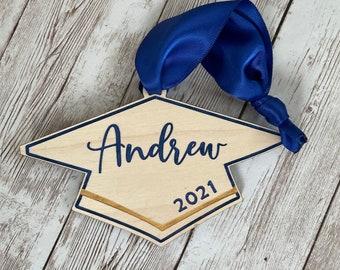 Class of 2021 Grad Cap Ornament | Custom Grad Ornament | Graduation Gift Class of 2021