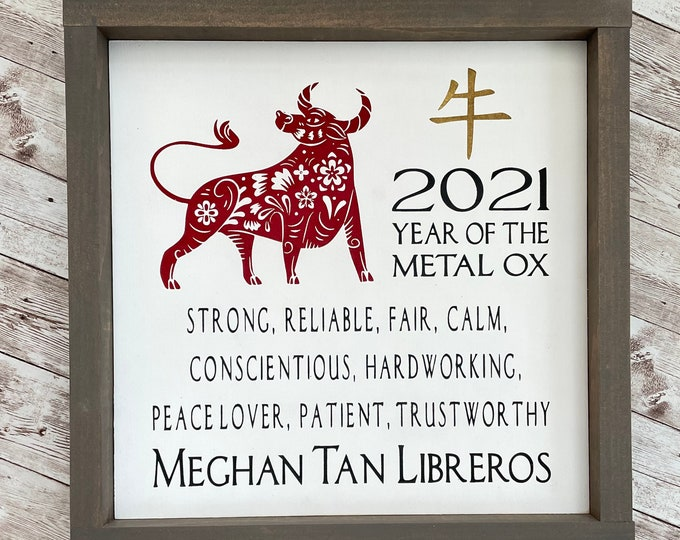 """Chinese Zodiac Name Sign 