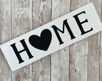 """Home Heart Wood Sign 
