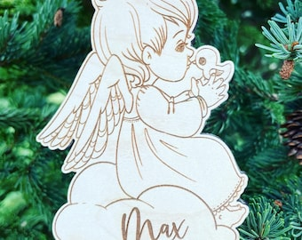 Baby Angel Boy or Girl Christmas Ornament | Infant Loss Memorial Gift | Baby Loss Gift | Infant Bereavement Gift