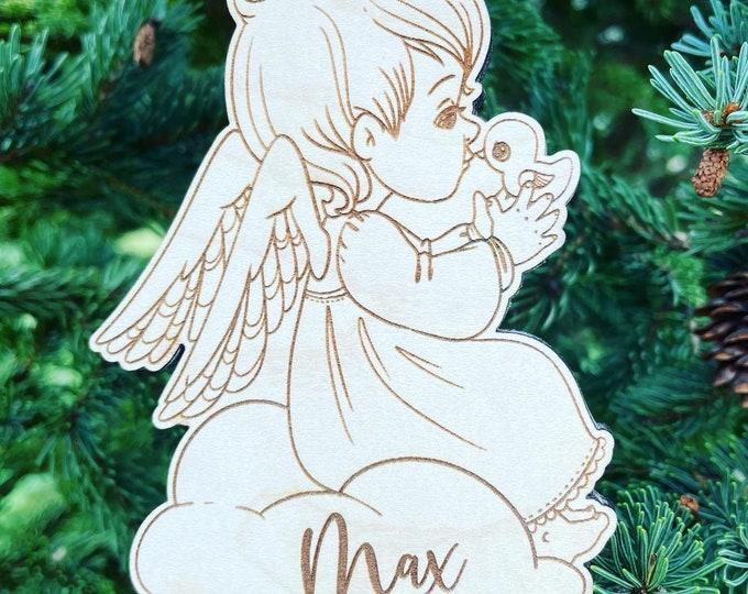 Baby Angel Boy or Girl Christmas Ornament   Infant Loss Memorial Gift   Baby Loss Gift   Infant Bereavement Gift
