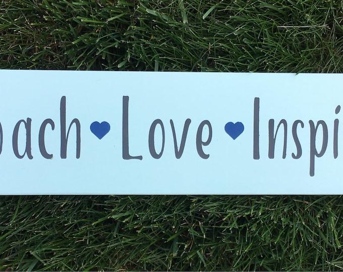 Coach Love Inspire Gift sign   Coach Gift Idea
